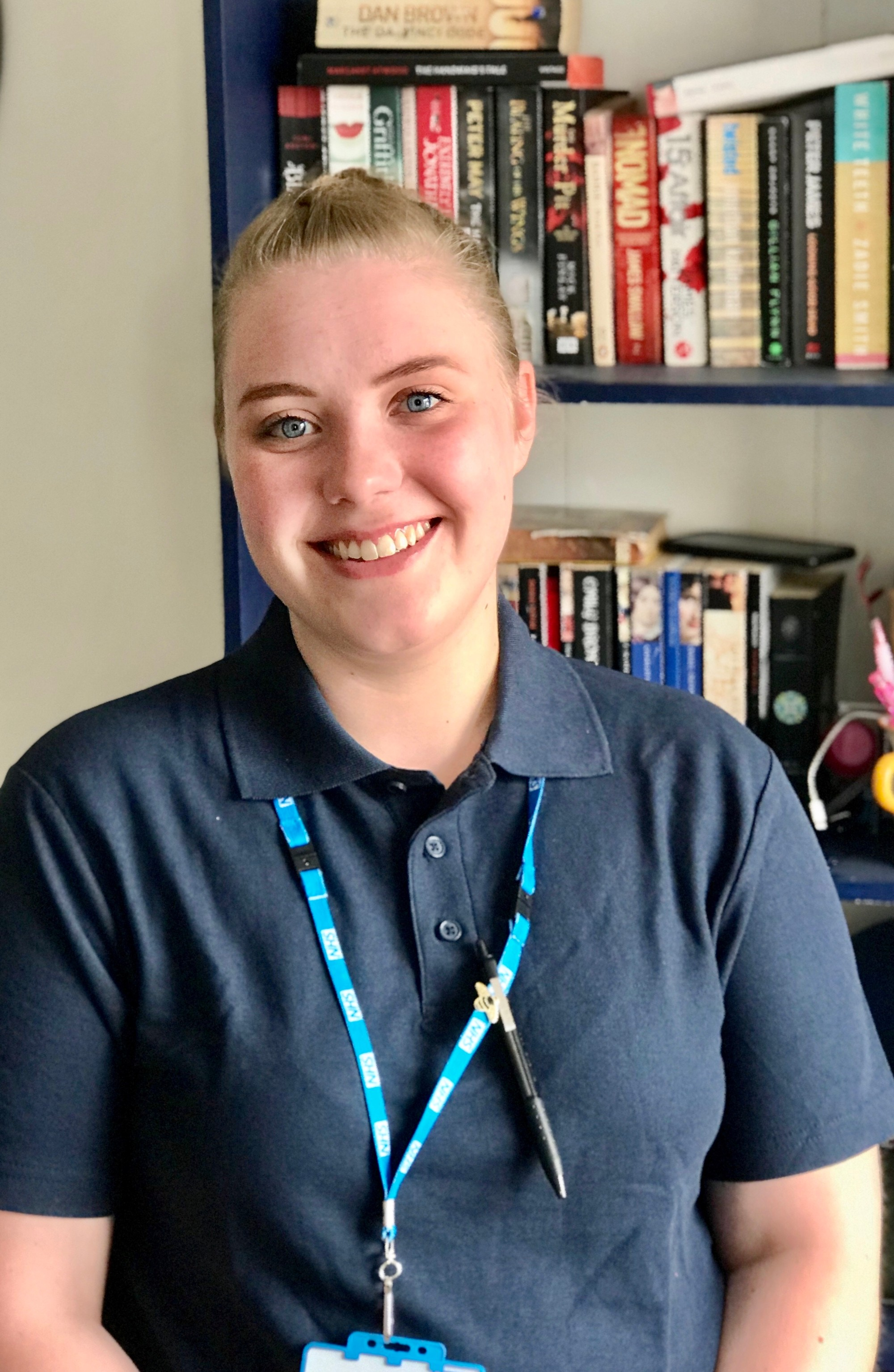 Emily Curran, trainee nursing associate